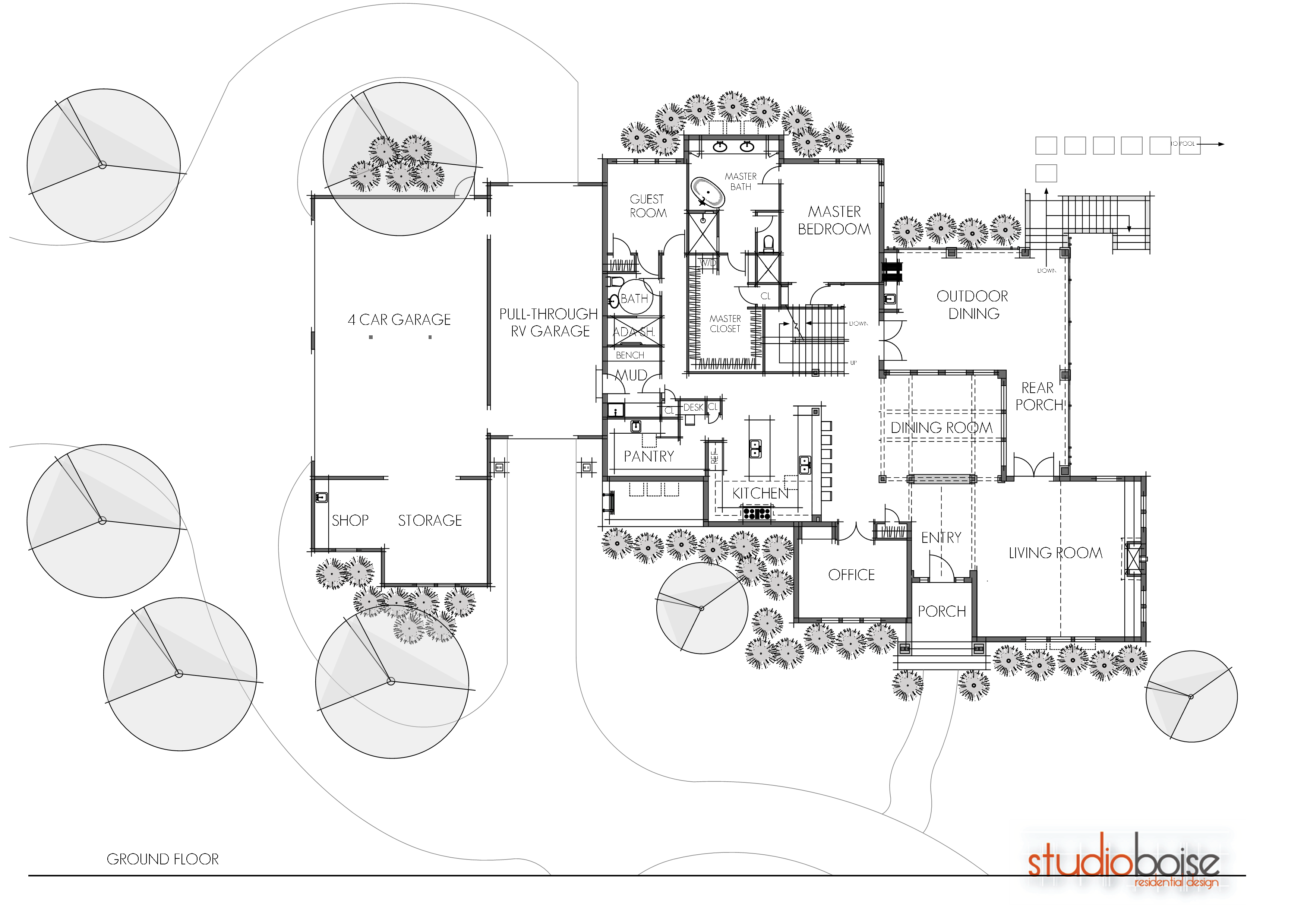 Studio boise residential and architectural design home for Twin home floor plans