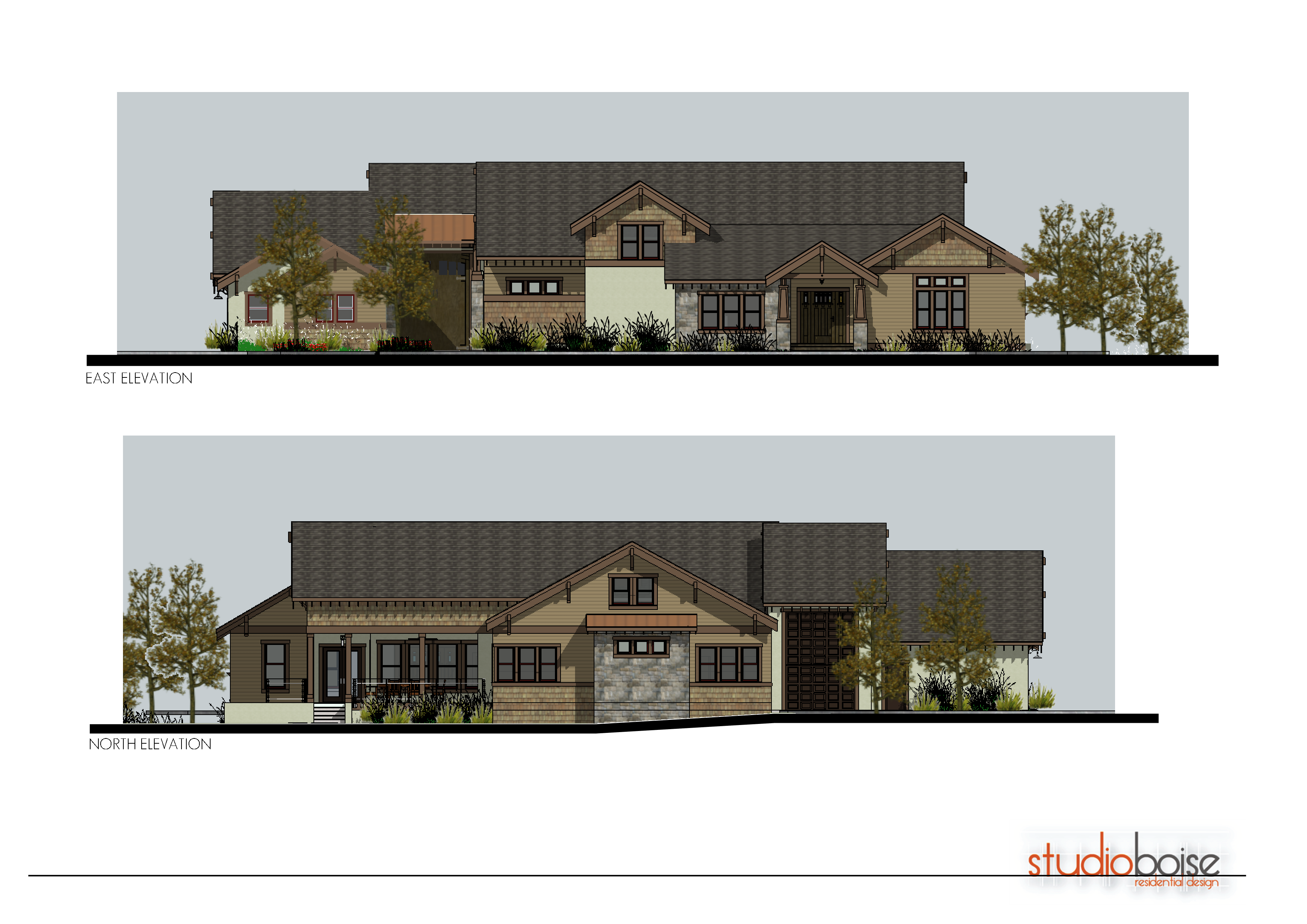 Twin falls home 8 studio boise residential design for Twin home plans