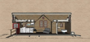 tiny house section