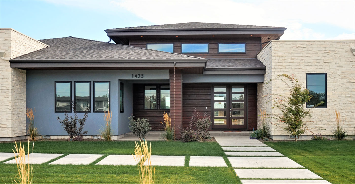 Stunning new architect designed homes photos decoration for Boise residential architects